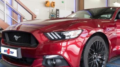 Prestavba Ford Mustang GT na LPG