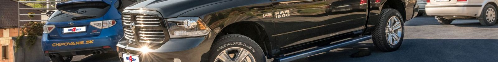 Prestavba Dodge Ram na LPG