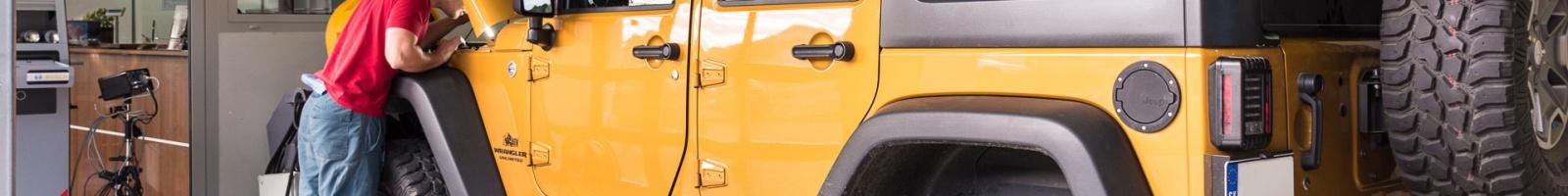 Prestavba Jeep Wrangler na LPG